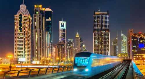 Dubai Metro Night a1d9e71c